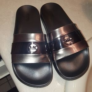 Pewter and smoke colored mk slides